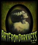 BRIDE OF FRANKENSTEIN ART FROM DARKNESS
