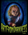CHUCKY CHILD'S PLAY ART FROM DARKNESS