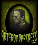 FRANKENSTEIN ART FROM DARKNESS