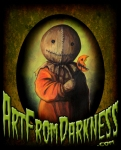 SAM TRICK R TREAT ART FROM DARKNESS